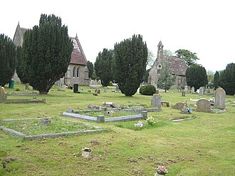 Blandford Forum - Blandford Cemetery, one of the responsibilities of the Town Council