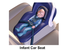 Car Seat Bed Testing For Airway Integrity