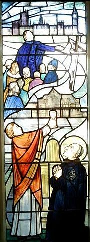 Window from Blessed Dominic's Shrine
