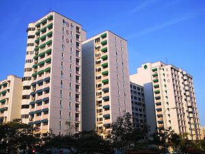 Jurong West - Image: Blocks 859 to 866 colour scheme, Jurong West Street 81, Singapore 20101014