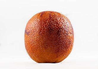 Blood orange - Image: Blood orange on white