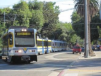 Blue Line (Sacramento RT) - Image: Blue Line (Sacramento RT) 2009