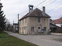 Blussangeaux, Mairie.JPG