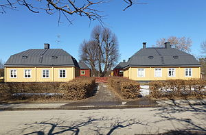 Bo gård i april 2013.