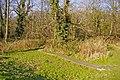 Boardwalk to the Houndsden Gutter, London N21 - geograph.org.uk - 697378.jpg