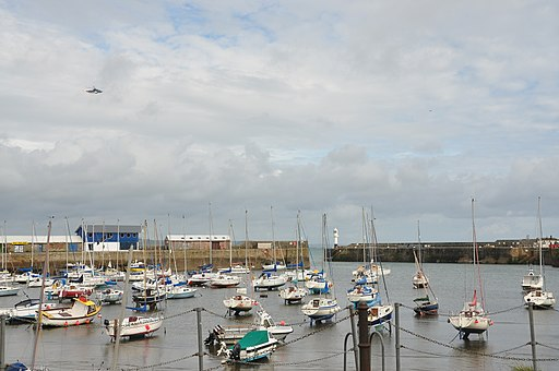 Boats in Penzance harbour (6320)