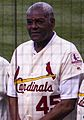 Bob Gibson in 2017 - 1967 St.Louis Cardinals Reunion team (cropped).jpg