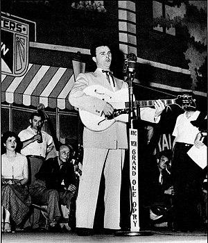 Bobbejaan Schoepen - Bobbejaan in Grand Ole Opry, 1953