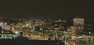 Boduppal City in Telangana, India