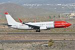 Boeing 737-8JP(w) 'LN-NHG' Norwegian (24737858435).jpg