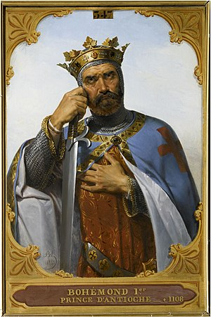Bohemond I of Antioch - Portrait by Merry-Joseph Blondel