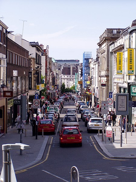 People in Bold Street, Liverpool