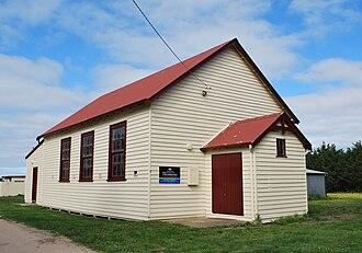 Bolinda, Victoria - The Bolinda community hall