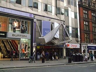 Bond Street tube station - Western entrance through West One arcade