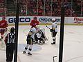 Bonus Experimental 3x3 Overtime Period, Detroit Red Wings vs. Pittsburgh Penguins, Joe Louis Arena, Detroit, Michigan (21677920606).jpg