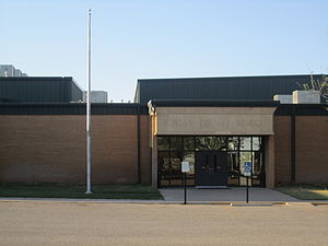 Borden County Independent School District - Borden County School is located across from Bicentennial Park in Gail, Texas.