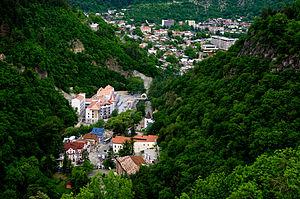 Borjomi - Overlooking Borjomi amid the Lesser Caucasus