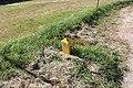 Borne 14 Indication Canalisation Gaz Chemin Romagne St Cyr Menthon 1.jpg