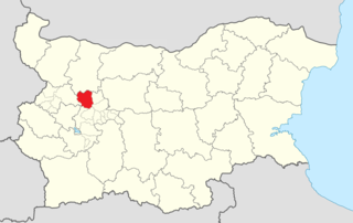 Botevgrad Municipality Within Bulgaria.png