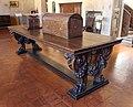 Bottega fiorentina, tavolo del XVI sec. riassemblato nel XIX.JPG
