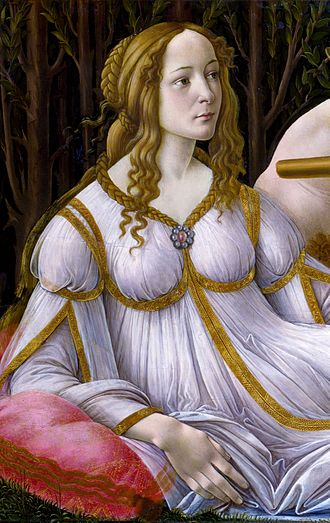 Venus and Mars (Botticelli) - Venus