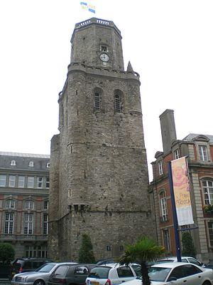 Boulonnais (land area) - Image: Boulogne sur mer beffroi
