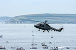 Bournemouth Air Festival 2008 - Royal Navy Lynx over Poole Bay - geograph.org.uk - 945245.jpg