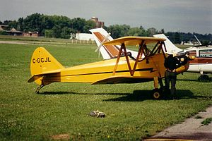Peter M. Bowers - A Bowers Bi-Baby, this is the Fly Baby with the optional upper wing installed