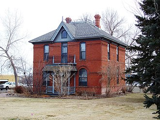 Bowles House (Westminster, Colorado) - Front of the house