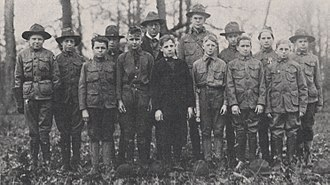 History of the Boy Scouts of America - Troop 10 from Columbus, Ohio, 1918