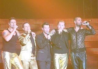 Boyzone Irish boyband, founded 1993