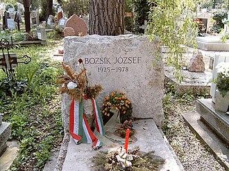 József Bozsik - Resting place of József Bozsik