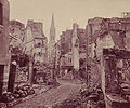 Braun, Adolphe (1811-1877) - Paris, 1871 - St Cloud, rue de l'Eglise.jpg