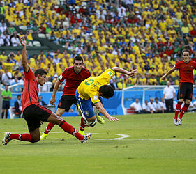 Brazil and Mexico match at the FIFA World Cup 2014-06-17 (23).jpg