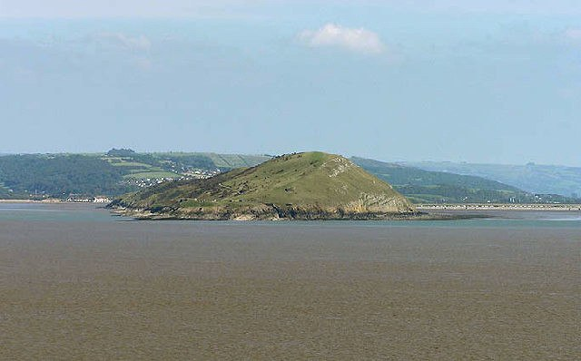 Brean Down from Steepholm - geograph.org.uk - 93827