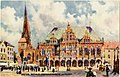Bremen, Rathaus, Liebfrauenkirche und Markt. 629B (NBY 419203).jpg