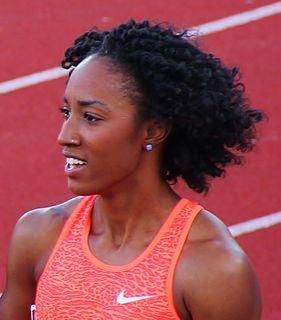 Brianna Rollins-McNeal American track and field athlete