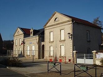 Briantes - The town hall in Briantes
