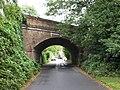 Bridge under Reading to Waterloo railway line - geograph.org.uk - 1470282.jpg