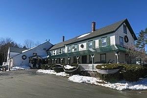 Bridgewater, New Hampshire - Image: Bridgewater Inn, Bridgewater NH