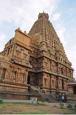 11th century - The Brihadeeswarar Temple of Chola era southern India, completed in 1010, during the reign of Rajaraja Chola I.
