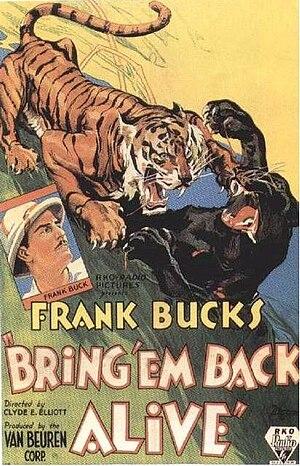 Bring 'Em Back Alive (film) - Theatrical poster