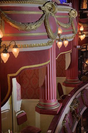 Bristol Hippodrome - Image: Bristol Hippodrome Box Detail