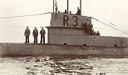 British WWI Submarine HMS R3a