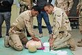 British soldiers conduct medical training with Iraqi Combat Medics Course students 160317-A-KH215-100.jpg