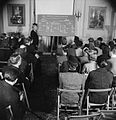 Britons Learn Turkish- Adult Education in London, 1943 D13347.jpg