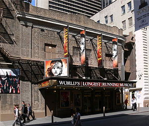 Broadhurst Theatre - The Broadhurst Theatre, 2007