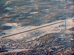 Bromma lufthavn med omgivelse ligger i Västerort