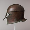 Bronze helmet of Corinthian type MET DP105638.jpg