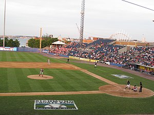 Richmond County Bank Ballpark - Brooklyn Cyclones vs. Staten Island Yankees on June 28, 2014